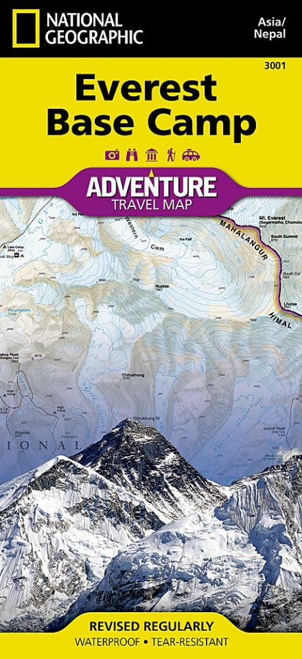 Everest Base Camp - National Geographic Adventure Map